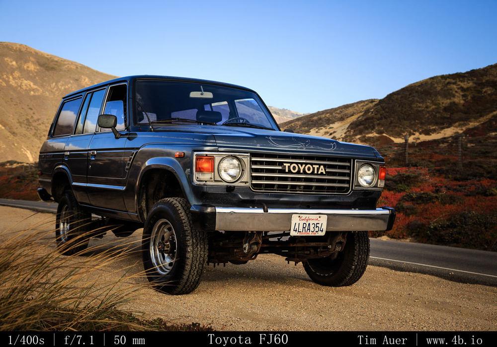 Toyota FJ60 Land Cruiser – The 4b io Nature